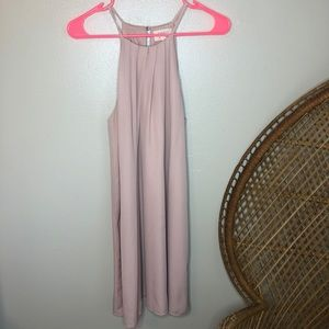 Blush Pink Everly Francesca's Dress